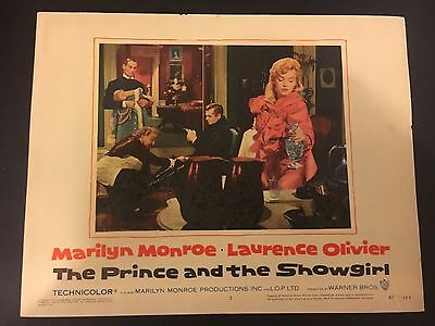 Prince And The Showgirl 1957 Lobby Card #5 Marilyn Monroe