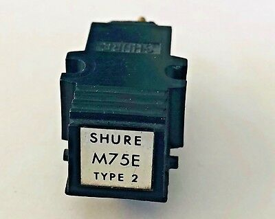 Shure M75E Type 2 Cartridge Withaout stylus guar NEW