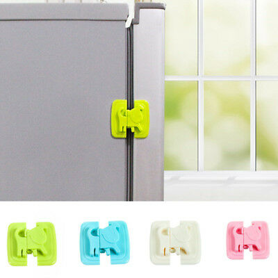 Protection Child Baby Safety Cabinet Door Fridge Drawer Cupboard Catch Lock Clip