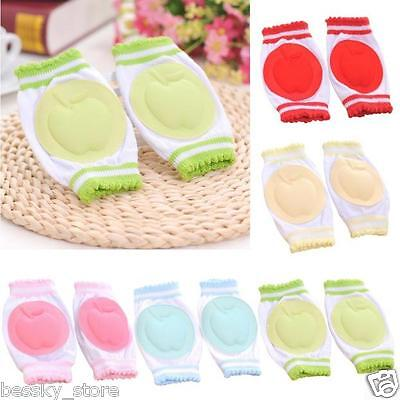Infant Baby Safety Crawling Elbow Cushion Toddler Knee Pads Knee Protector Pad L