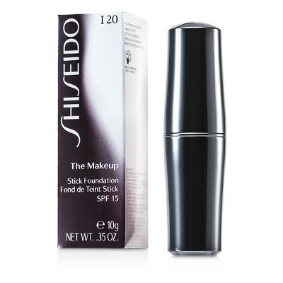 NEW Shiseido The Makeup Stick Foundation SPF15 10g 40% OFF RRP! (various shades)