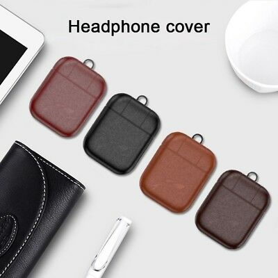Leather ShockProof Protective Case Cover For Apple Airpods Air Pod Earphone