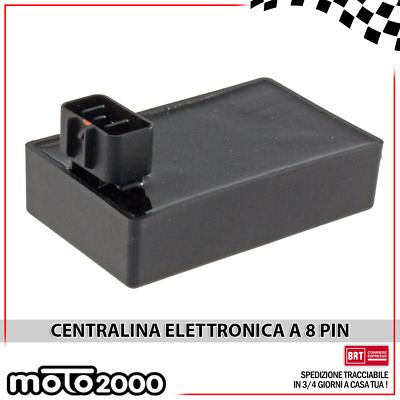 Centralina Elettronica One 8 Pin Kymco Agility Super 8 Like Lx R16 125 150