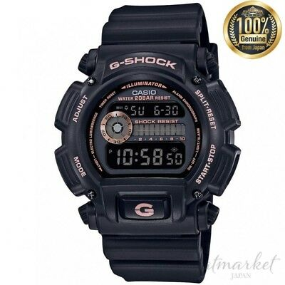 CASIO DW-9052GBX-1A4JF Watch G-SHOCK Men's Black Band in Box genuine from JAPAN