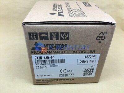 1PCS New In Box Mitsubishi FX2N-4AD-TC PLC Module