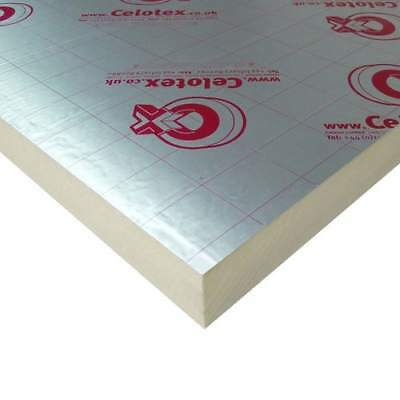 Celotex / Recticel PIR Insulation Boards 2400x1200mm - Various Thicknesses