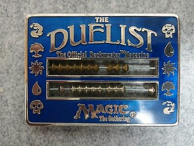 MTG The Gathering MTG Duelist Abacus Blue Life Counter 1996
