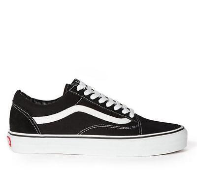 Vans Old Skool Black White Shoes Unisex Mens Womens US Mens Size