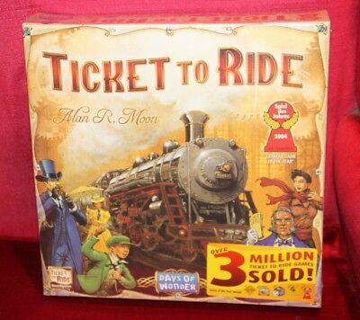 Ticket to Ride USA Board Game - Brand New Sealed -