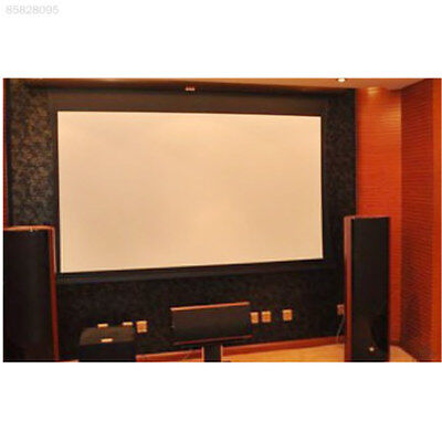 9B43 Durable 84 Inch Home Cinema Projector Curtain Outdoor School Polyester