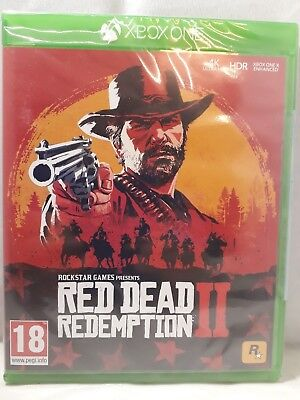 XBOX ONE Red Dead Redemption II (BRAND NEW & SEALED)