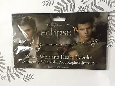Twilight New Moon Edward Cullen Jacob Black Tolles Armband Wolf u Kristall