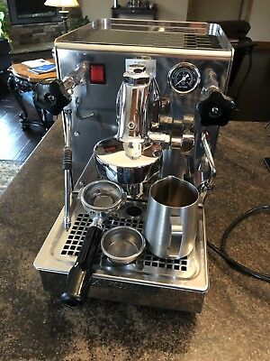 Rebuilt Expobar Office Lever Semi-Automatic Espresso Machine