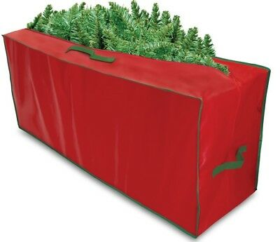 Christmas Tree Storage Bag Large Heavy Duty - top & side handles RED OR GREEN