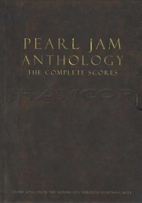 Pearl Jam Anthology The Complete Scores Guitar TAB Bass Drums 130 Songs Hardback