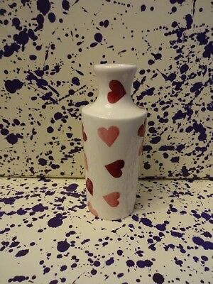 Emma Bridgewater Pink Hearts Small Ink Vase