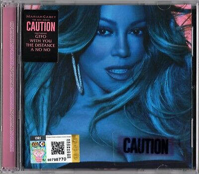 MARIAH CAREY Caution 2018 MALAYSIA EDITION CD NEW SEALED (EXPLICIT VERSION)