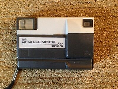 Kokak Tele-Challenger Disc Camera with manual and case