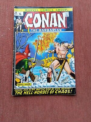 Conan the barbarian UK issue 15 1972