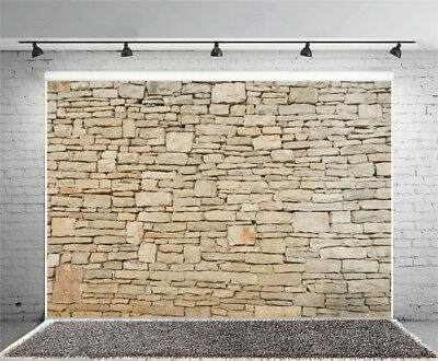 Retro Stone Wall Shooting Photo Backdrop Studio 7x5' Background Photography Prop