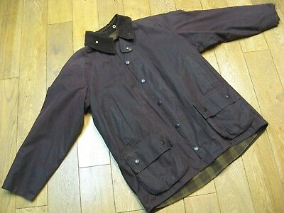 "Barbour Beaufort Wax Jacket Size:44""/112Cm Colour:brown"