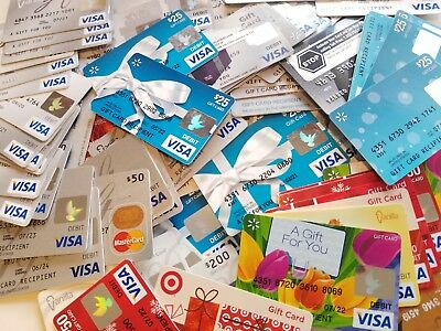 Lot of 7 USED lot  Visa  card - just for Collection - USA not master card