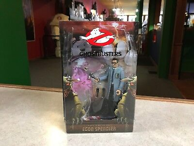 "2010 Matty Collector Ghostbusters READY TO BELIEVE EGON SPENGLER 6"" Figure MOC"