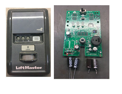 LiftMaster 888LM Security+2.0 MyQ Wall Control Panel (CAPACITOR REPAIR KIT)
