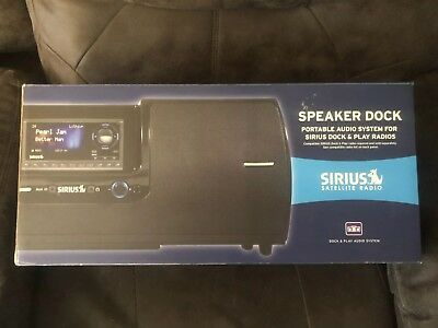 New Sirius SUBX2 Speaker Dock Portable Sound System