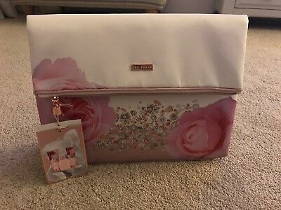 d0fb5ed337eb53 NEW Ted Baker Blush Bouquet Cosmetic Gift Bag With Toiletries Ladies Gift  Set