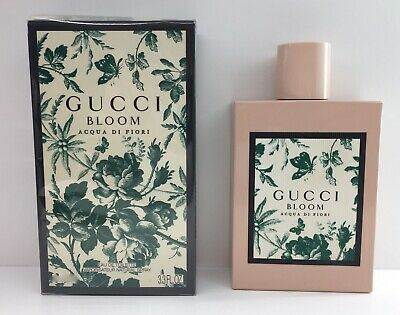 799dcb3c4 GUCCI BLOOM AQUA Di Fiori Eau De Toilette Spray - $108.00 | PicClick