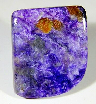 50 Ct 100% Natural Antique Designer Russian Charoite Fancy Cabochon Gemstone B86