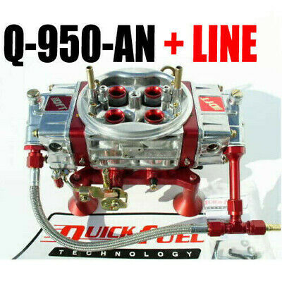 Quick Fuel Q-950-AN Tecnologia 950 Anulare Mech Drag Race Red Line Kit