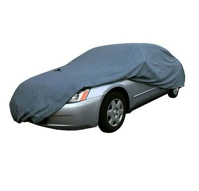 FH Group Breathable, Water Repellent, Rustproof Car Cover-XL-Grey- FH-CC502 (S9)