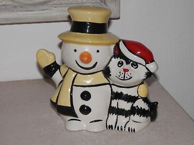 Lorna Bailey 'christmas Friends' Figure  *excellent Purrfect Condition*