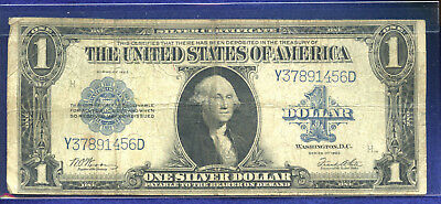 1923 Series $1 Silver Certificate - the last of the Large Size US notes!