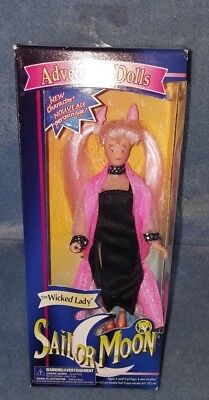 SAILOR MOON Wicked Lady 6 IN ADVENTURE DOLL IRWIN 1997 Figure Action Rare