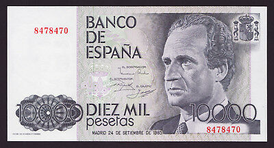 SPAIN  -  10000 pesetas,1985  -  without series  -  P 161  -  UNC