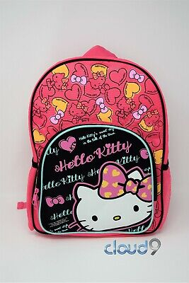 Sanrio - Hello Kitty Pink & Black Backpack