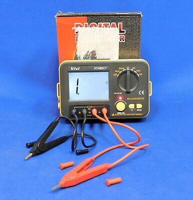 Vichy VC480+ 3 1/2 Digital LCD Multimeter Milli-Ohm Meter Resistance Untested