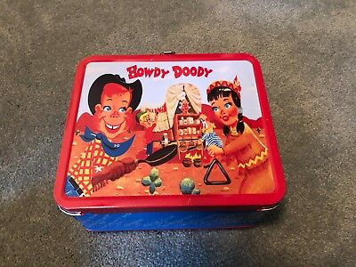 Howdy Doody Tin lunch box in SUPER condition