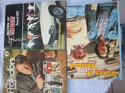 Three Annuals Dukes Of Hazzard The Protectors The Return Of The Saint