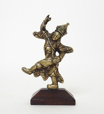 Fine 19th century antique Tibetan bronze figure