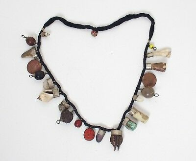 Fine antique Nepalese Raksha-ma Newari necklace