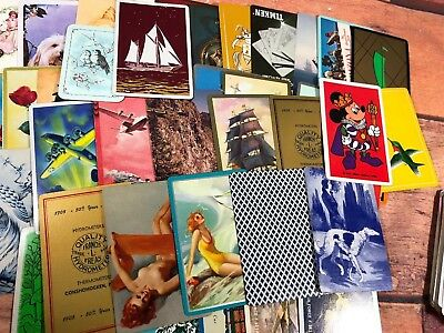 Mixed Lot Of 200 Vintage & Antique Swap Playing Cards Collectible Lot