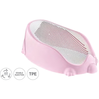 Mesh Baby Bath. Soft Touch Baby Bath Tube Support BPA Free Max.15kg