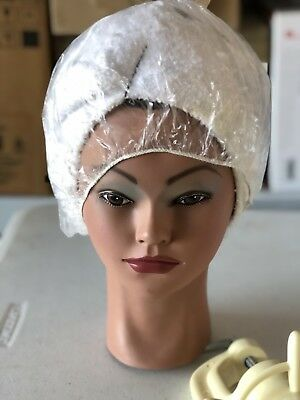 Human Hair Mannequin Hairdresser Training Doll Head Cosmetology With Free Clamp.