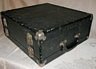 Vintage Traveling Jewelry Ring Salesman Double-Sided Sample Case