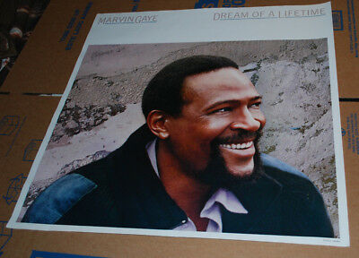 "Marvin Gaye ""Dream of a Lifetime"" promotional poster"