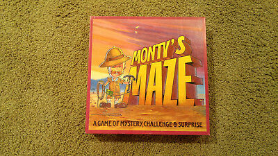 Monty's Maze Board Game, Brand New *sealed*. Classic. Family Friendly.
